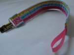 Bright Rainbow 2 Pacifier Clip $4.00