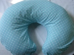 Blue Dots Nursing Pillow Cover $20.00