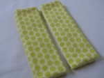 Green Dots Car Seat Strap Covers $5.00